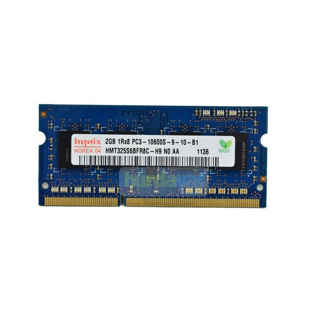 Hynix 2Gb 1333 Mhz Notebook Ram 1RX8 PC3 10600S-9-10-B1