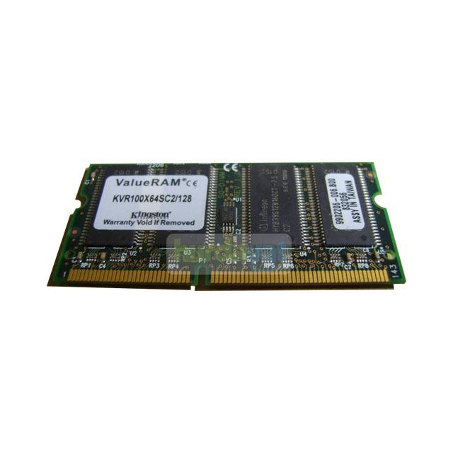 Kingston KVR100X64SC2/128 128 MB Notebook Sd Ram