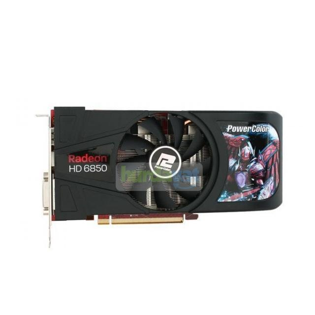 Powercolor AX6850 1GBD5 PCİ-E 1 GB/256BİT GDDR5 HDMİ DVİ Display Port DX 11 Ekran Kartı