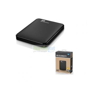 Western Digital WD Elements 500 GB Taşınabilir Disk WDBUZG5000