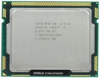 İntel Core İ3 540 1156 Pin İşlemci Cpu